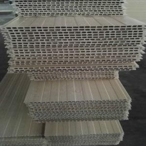 La Chine de panneaux muraux en bois composite en plastique