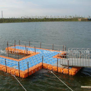 Drijvende HDPE Viskwekerij