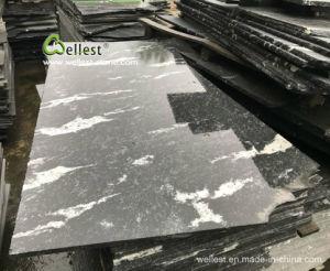 壁のクラッディングおよび床の敷物のためのハイエンドG263雪の灰色の黒い花こう岩の磨かれたタイル