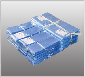 Hitte van Polyvinyl Chloride van het avondmaal krimpt de Transparante Vlakke Zakken met de Gaten van de Opening voor Vakjes en Artikelen die met Goedgekeurd FDA verpakken (XFB07)