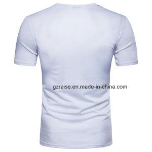 남자를 위한 짧은 소매 주문 t-셔츠를 인쇄하는 Guanngzhou 공장