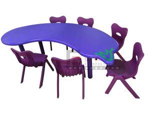 Gt 54木および金属フレームは大きい円卓会議および椅子をからかう