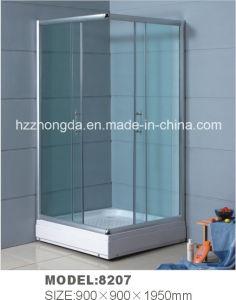 Simple cabina de ducha con plato de ducha de 5cm (8207)