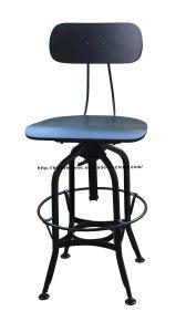 家具のバースツールのトレドの椅子を食事する産業金属のレストラン