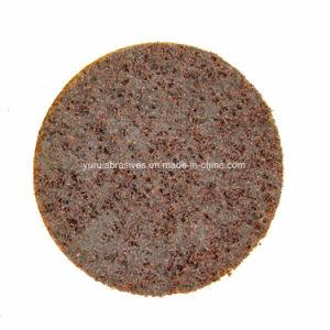 Disco da roda de polimento de Non-Woven moagem da roda de polimento de Aço Inoxidável