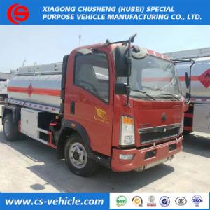 HOWO 4X2 판매를 위한 6000 리터 Refueling 트럭