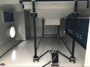 小型二酸化炭素レーザーの非金属切断の彫版機械かレーザーのカッター