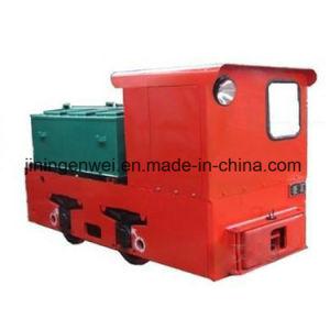 Locomotiva elettrica di cantieri sotterranei del carrello da 7 tonnellate per la miniera di carbone