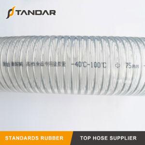 耐熱性ステンレス鋼のFDAの食品等級のシリコーンのホース