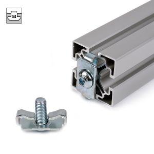 Connecteur de l'écrou de fixation standard de 8 pour les profils en aluminium Standardverbinder