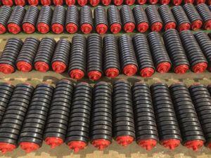 O Transportador de Correia Transportadora da Engrenagem Intermediária do Rolete da Engrenagem Intermediária do Cilindro de impacto//rolete da esteira de borracha