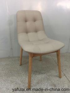 Moderner fester hölzerner PU-Stuhl für Haus und Büro