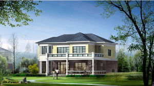 Estructura de acero modulares prefabricadas Casa (KXD-pH1439)