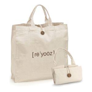 Logo au format personnalisé en toile de coton imprimé Fashion Shopping Sacs à main pour de gros (CTB-1027)