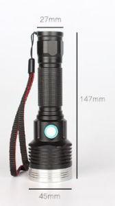 USB concentrato eccellente che carica la forte torcia elettrica tattica chiara del LED