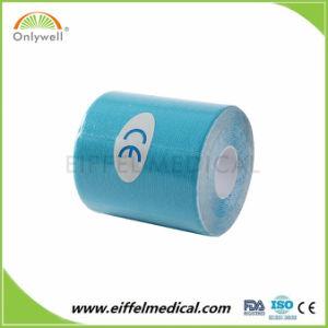 Band van de Kinesiologie van de Strook van de Fabrikant van de Medische behandeling van de Hulp van de Pijn van de knie de Waterdichte Kleurrijke