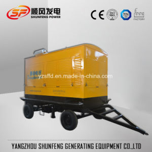 Cummins Engine를 가진 방수 Trailer 160kVA Electric Power Diesel Generator