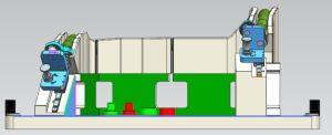 차 고무 호스를 위한 측정 공구를 가공하는 CNC