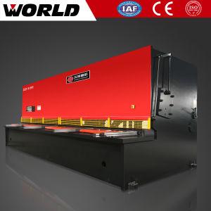 QC12y luces de giro hidráulico de corte de placa de tipo de máquina de esquila