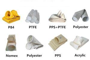 Staub-Ansammlung PPS-Filtertüte für Zementofen