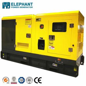 100kVA elektrische Diesel van het Type van Cummins van het Begin Open Generator