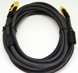 5m, 10m de cabo de vídeo e áudio HDMI Divisor para TV de LCD