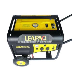 Nuovi rotelle di 5.0kw 13.0HP & P-Tipo generatore portatile della maniglia della benzina