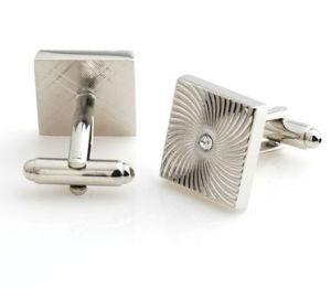 人の布の使用(005)のためのカスタム亜鉛合金のファッション小物の音符のカフスボタン