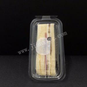 ペット使い捨て可能な透過サンドイッチかボックスまたは包装ボックス