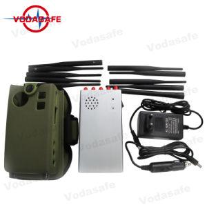 Het nieuwste Draagbare Handbediende Blokkeren van 10 Antenne voor de Cellulaire Phones+GPS+Wi-Fi+Lojack 2g 3G 4G GSM 4glte Draagbare Stoorzender van het Signaal van de Telefoon van de Cel 4gwimax
