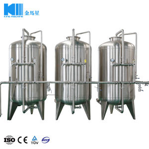 500L/Hのための小さい産業ROの純粋な水処理設備の機械装置