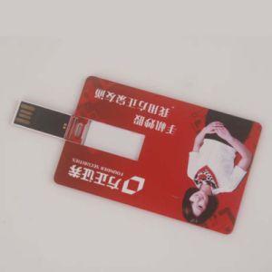 Настраиваемые цветной печати Рекламу моды Business Card емкостью 8 ГБ с USB 2.0 пластмассовый диск