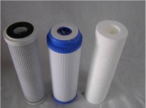 1.0um Patronen van de Filter van 5.0 Microns de Korrelige Geactiveerde Koolstof Geplooide voor Vloeibare Filtratie