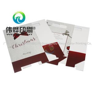 Производитель Custom печать дизайн упаковки рождественских подарков бумаги мешок