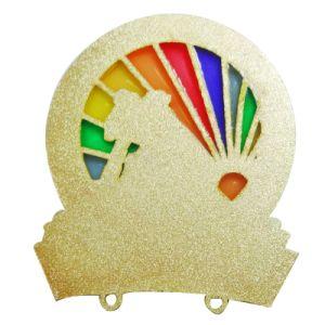 子供の装飾(222)のためのきらびやか及びエポキシの卸し売り工場価格の折りえりPin