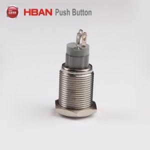 alto tipo momentaneo rotondo interruttore di 16mm di pulsante