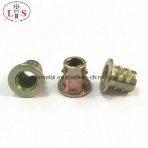 Écrou d'insertion en alliage de zinc avec une haute qualité