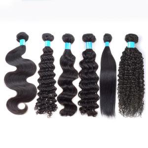 Les Extensions de cheveux lisses humaines naturelles échantillon