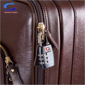 China Retro 20 de color marrón de cuero de vaca natural Composite Shell Softside ABS de laminación de rotación del mecanismo de giro de 360 líneas aéreas de la TSA la maleta de viaje de la cabina llevar maletas Trolley