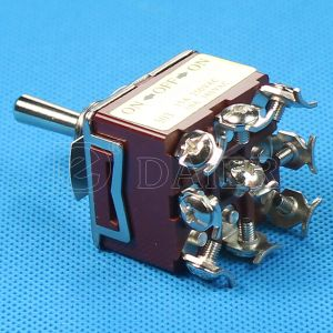 15A 9 Pinの車のための電気金属のトグルスイッチ