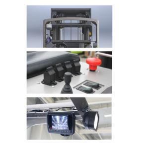 Yb16 Новая аккумуляторная батарея Leoch тип складского хранения подъем машины