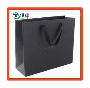 Personalizar el logotipo de UV en relieve el papel de lujo Bolsa de compras