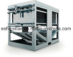 具体的な冷却のための枕版の熱伝達の落下フィルムの枕版の熱交換器
