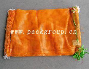 Röhrenineinander greifen-Beutel der Verkaufs-orange Farben-30kg pp.