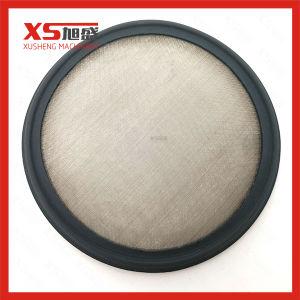 2Tri o grampo FKM gaxeta de aço inoxidável com tela de malha 150