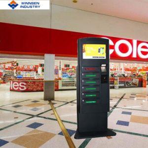 Münze/Bill-/Karten-Zahlung und aufladenfunktions-Handy-Aufladeeinheits-Schließfach