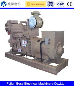 245kVA Perkins 방음 Watercooled 침묵하는 힘 디젤 엔진 전기 발전기