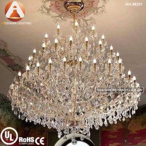 34軽い高級ホテルのマリアTheresaの水晶のシャンデリア