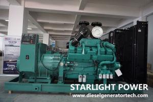 500kw Ktaa19-G5를 가진 방음 디젤 엔진 발전기 625kVA Cummins 발전기 세트