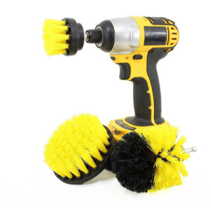 2/3.5/4 de pulgada perforar el cepillo de limpieza de cuarto de baño